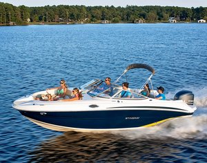 New Stingray Deck Boat For Sale