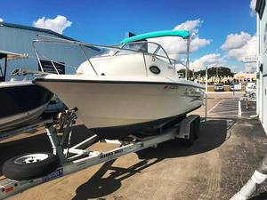 Used Hydra Sport 21 Walkaround Fishing Boat For Sale