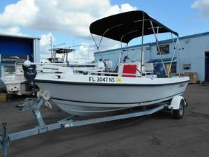 Used Angler 173 Center Console Center Console Fishing Boat For Sale