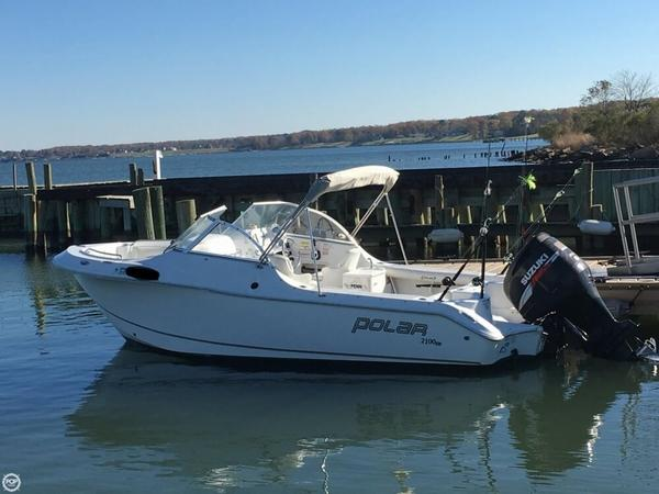 Used Polar 2100 DC Bay Boat For Sale