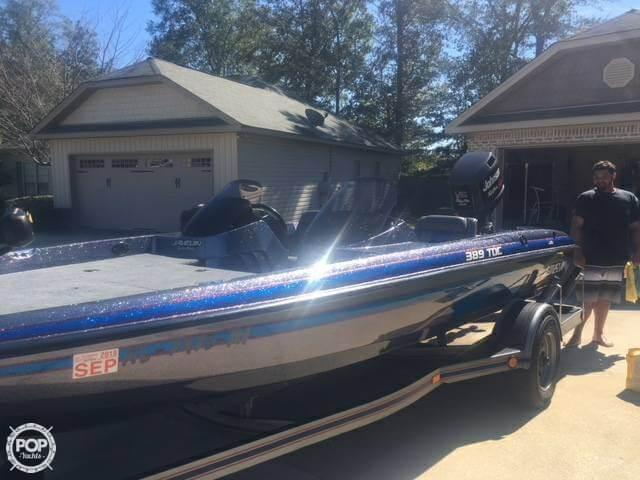 1991 Used Stratos Javelin 389 Tdc Bass Boat For Sale -  10 500