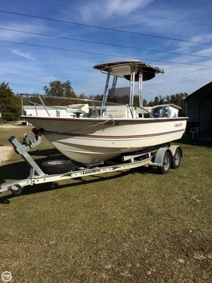 Used Cape Craft 19cc Center Console Fishing Boat For Sale