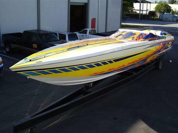 Used Cigarette ROUGH RIDER High Performance Boat For Sale