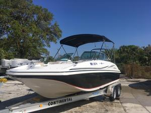 Used Hurricane SunDeck 187 OB Deck Boat For Sale