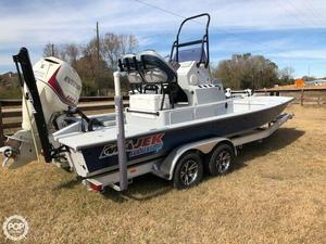 Used Majek 23 Illusion Flats Fishing Boat For Sale