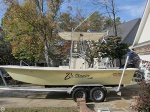 Used Jones Brothers Bateau 20 Flats Fishing Boat For Sale