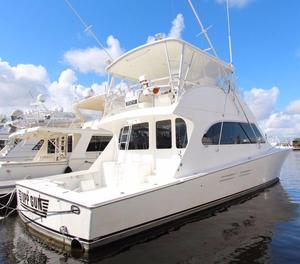 Used Post 56 Convertible Motor Yacht For Sale