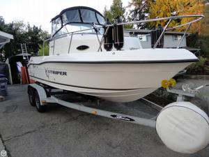 Used Seaswirl Striper 1851 Walkaround Fishing Boat For Sale