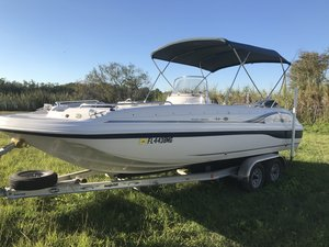 Used Hurricane GS211 Deck Boat For Sale