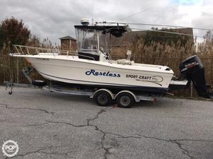 Used Sportcraft 23 Center Console Fishing Boat For Sale