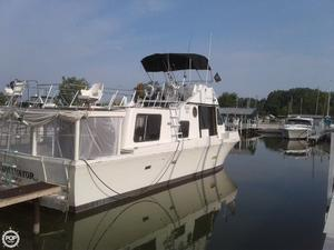 Used Bluewater 40 Pilothouse Boat For Sale