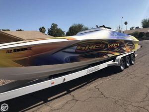 Used Magic Sorcerer 34 High Performance Boat For Sale