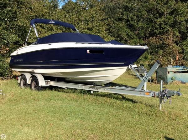 Used Monterey 214FS Bowrider Boat For Sale