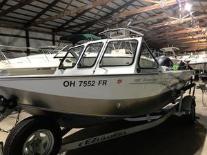Used Hewescraft 180 Sportman Aluminum Fishing Boat For Sale