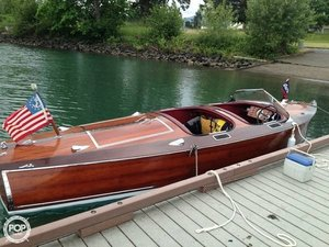 Used Garwood 18 Barrelback Antique and Classic Boat For Sale