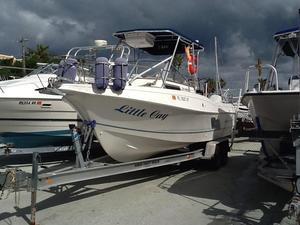 Used Aquasport Walkaround Fishing Boat For Sale