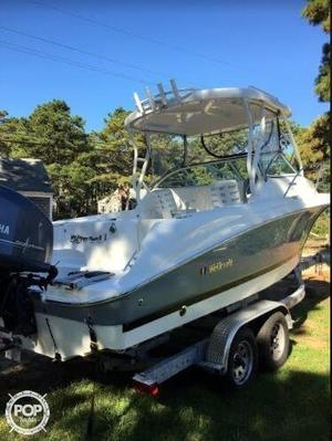 Used Wellcraft 232 coastal Walkaround Fishing Boat For Sale
