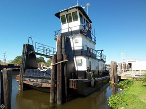 Used Steel Tug 55 Tug Towing Vessel TD Tug Boat For Sale