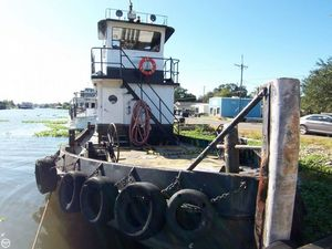 Used Steel Tug 55 Tug Towing Vessel LC Tug Boat For Sale