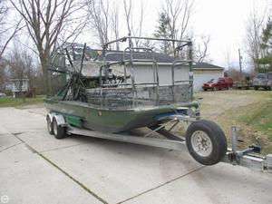 Used Panther 18 x 8 Air Boat For Sale