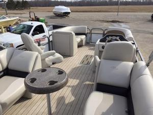 Used Manitou 23 Aurora Pontoon Boat For Sale