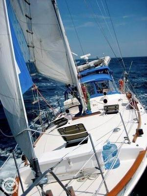 Used Kadey-Krogen 38 Cutter Sailboat For Sale