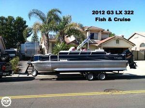 Used G3 Suncatcher LX 322 Fish & Cruise Pontoon Boat For Sale