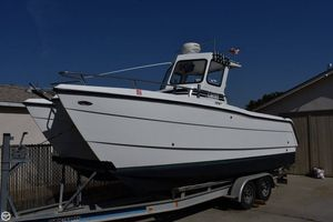 Used Pro Sports 22 ProKat Center Console with Custom Pilot House Power Catamaran Boat For Sale