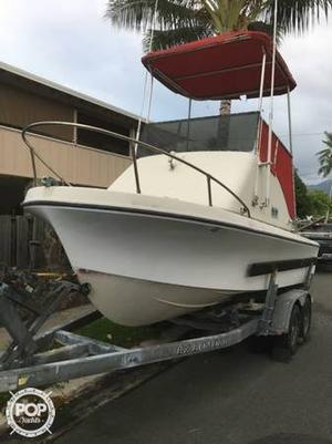 Used Skipjack 20 Flybridge Walkaround Fishing Boat For Sale
