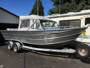 Used Wild Hair Boats 22 Aluminum Fishing Boat For Sale