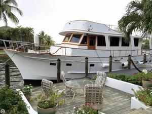 Used Marine Trader Tortuga 50 Trawler Boat For Sale