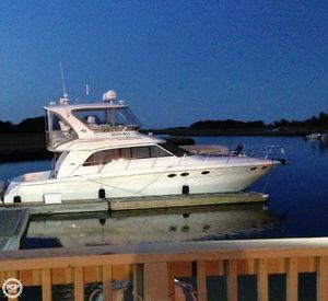 Used Sea Ray 480 Sedan Bridge Sports Fishing Boat For Sale