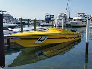 Used Wellcraft 31 Scarab High Performance Boat For Sale