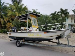 Used Twin Vee Bay Cat 19 Power Catamaran Boat For Sale