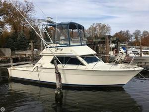 Used Hatteras Flybridge 32 Sports Fishing Boat For Sale