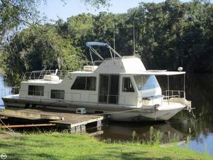 Used Holiday Mansion 490 Coastal Cruiser House Boat For Sale