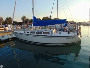 Used S2 Yachts 11 Meter Aft Cockpit Racer and Cruiser Sailboat For Sale