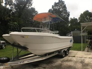 Used Tremblay 20 CAT Power Catamaran Boat For Sale