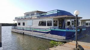 Used Pacific Boats 56 Houseboat House Boat For Sale