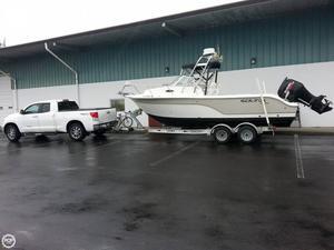 Used Sea Fox 236 WA Pro Series Walkaround Fishing Boat For Sale
