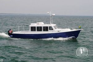 Used Gasparek Marine Industries 33 Trawler Boat For Sale