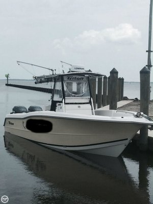 Used Triton 2895 Center Console Fishing Boat For Sale