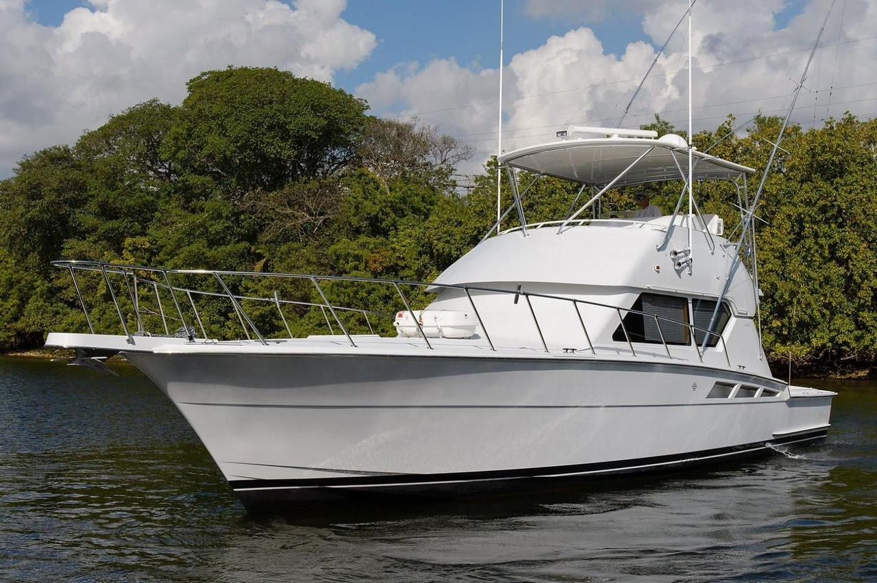 1999 Used Hatteras Sports Fishing Boat For Sale 250 000