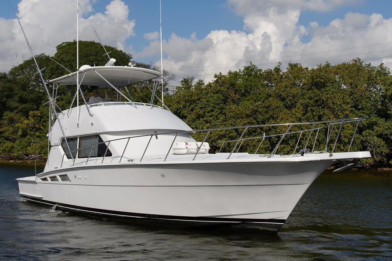 1999 used hatteras sports fishing boat for sale 250 000 for Fishing boats ny