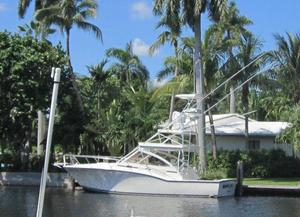 Used Carolina Classic Express w/Tower Sports Fishing Boat For Sale