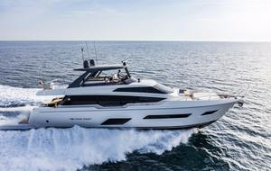 New Ferretti Yachts 780 Pilothouse Boat For Sale