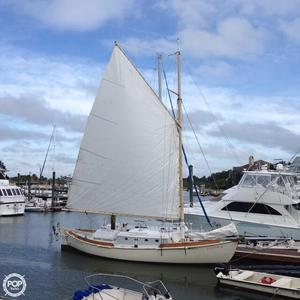 Used Custom Built Gaff Rigged Sloop Sailboat For Sale