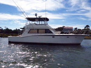 Used Hatteras 52 Cruiser Boat For Sale