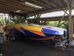 Used Magic 28 Deck Boat Deck Boat For Sale