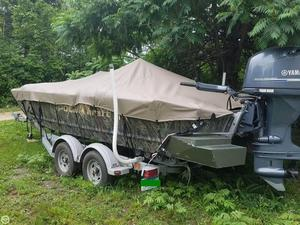 Used Polar Kraft SPORTSMAN 2072 XCC Aluminum Fishing Boat For Sale